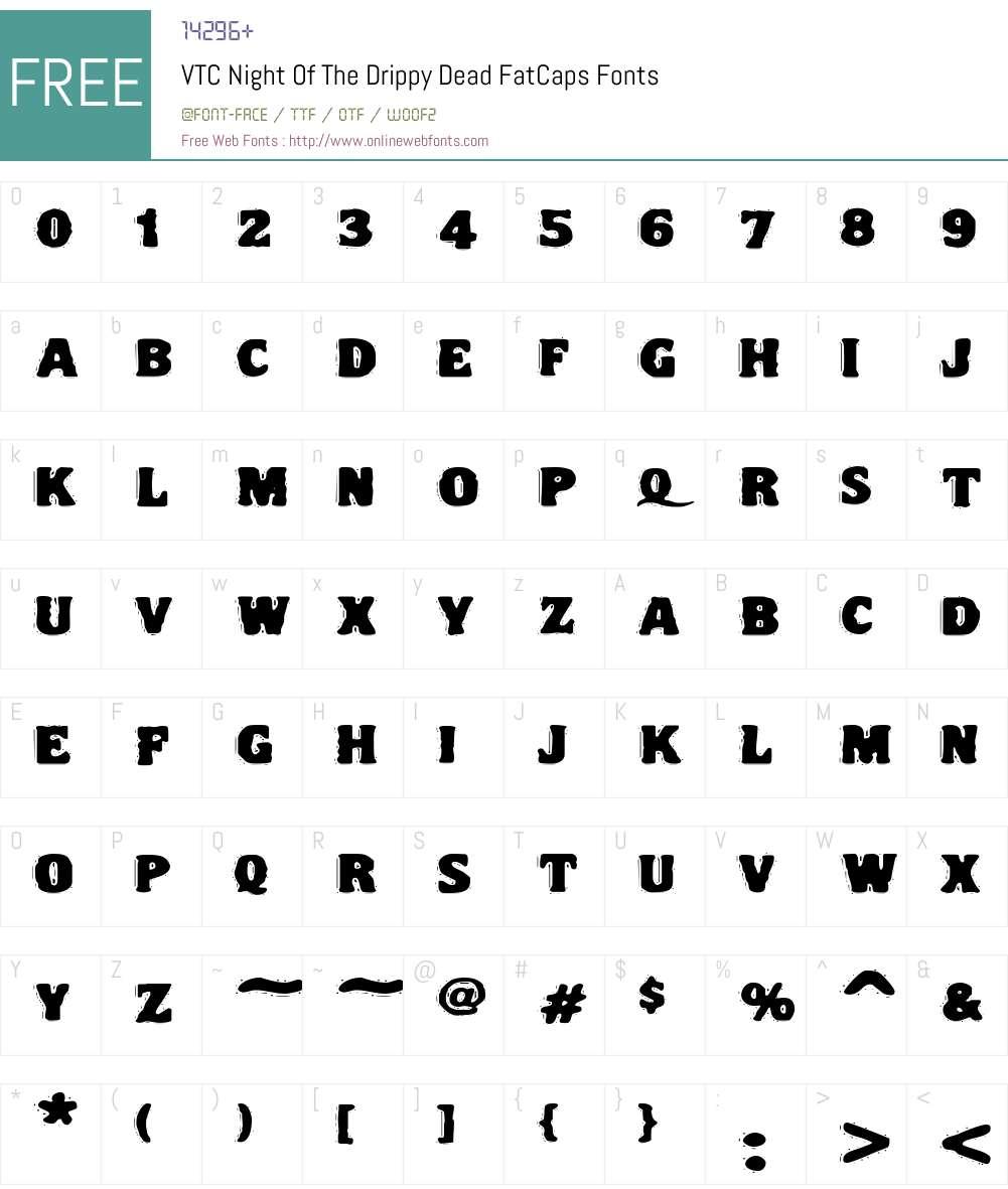 VTC Night Of The Font Screenshots