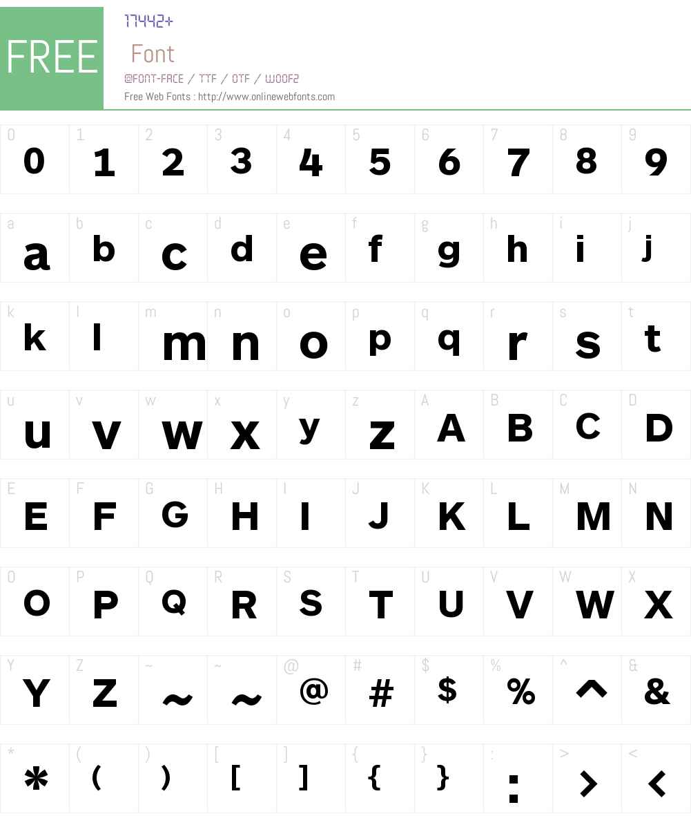 ARS Maquette Pro Font Screenshots
