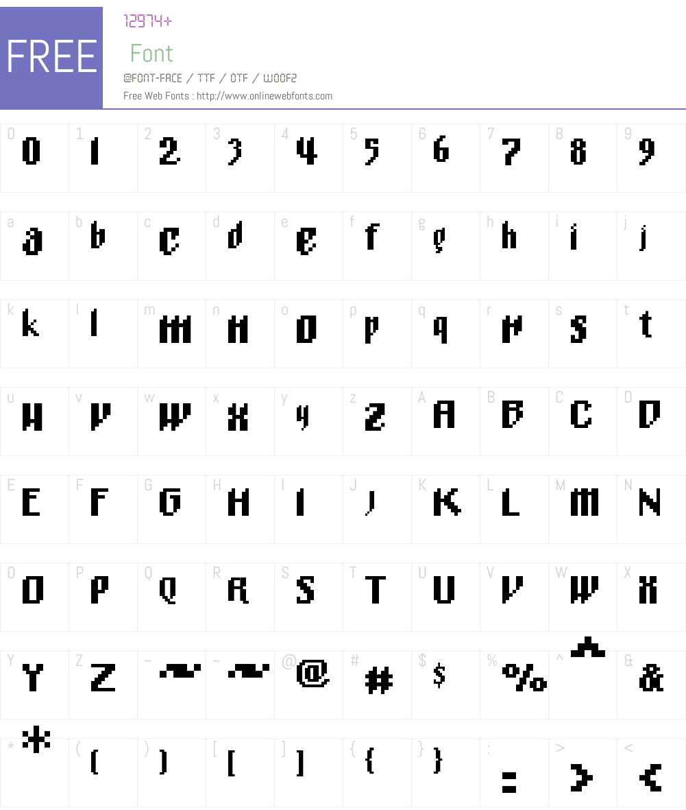 01MnemonixCCC Font Screenshots