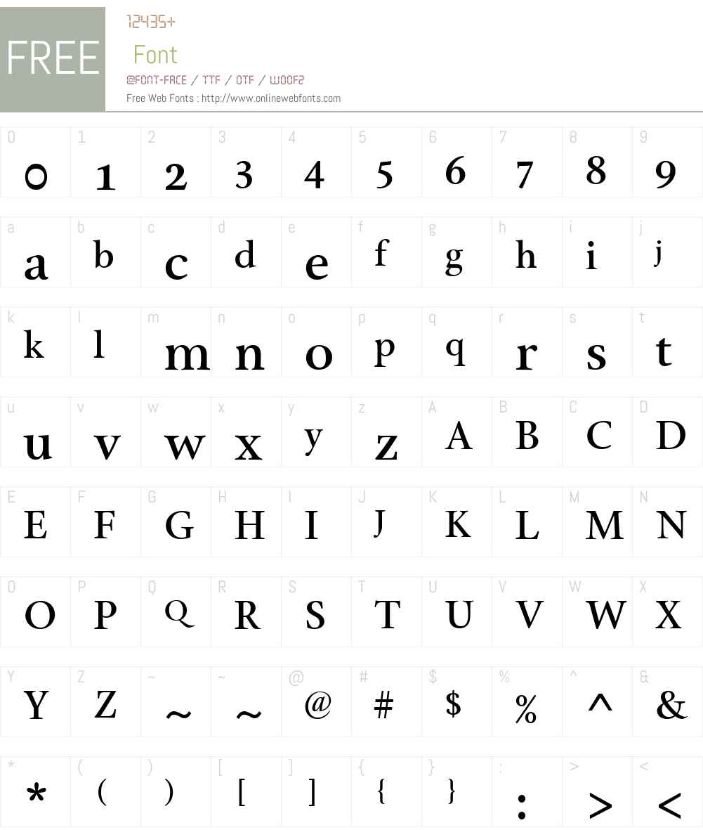 CyclesW00-NineSmbdTabOS Font Screenshots