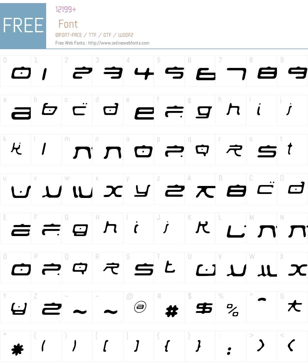 Fufanu Font Screenshots