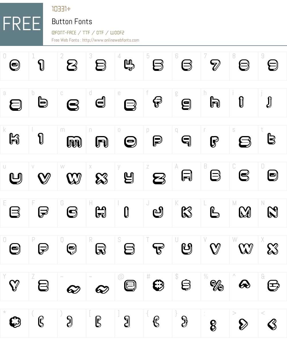 Button Font Screenshots