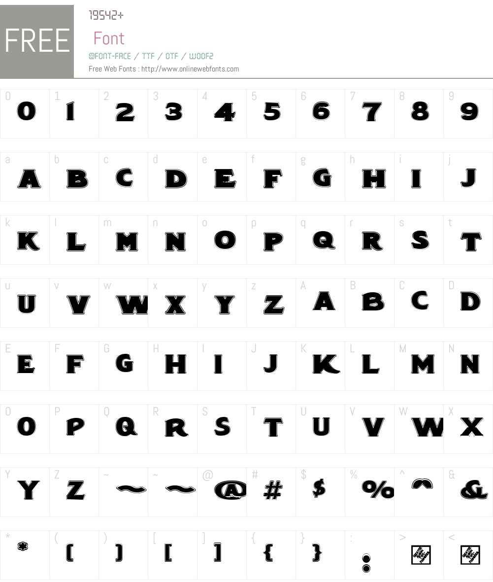 LuscombePlainW00-Regular Font Screenshots