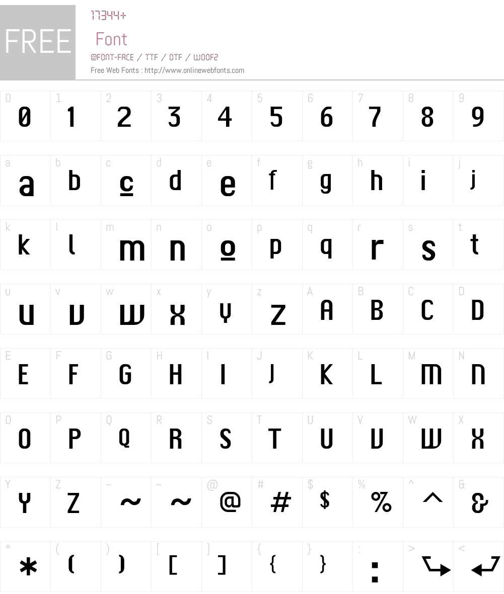 F2F Czykago LT Std Font Screenshots