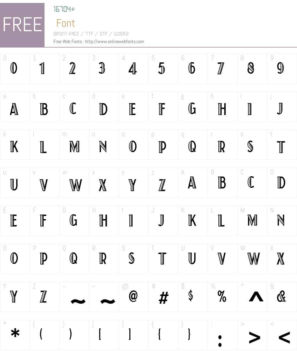 Juanita Xilo Condensed ITC Std Font Screenshots