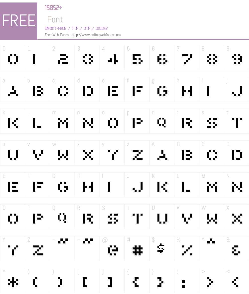 PonyRegular Font Screenshots