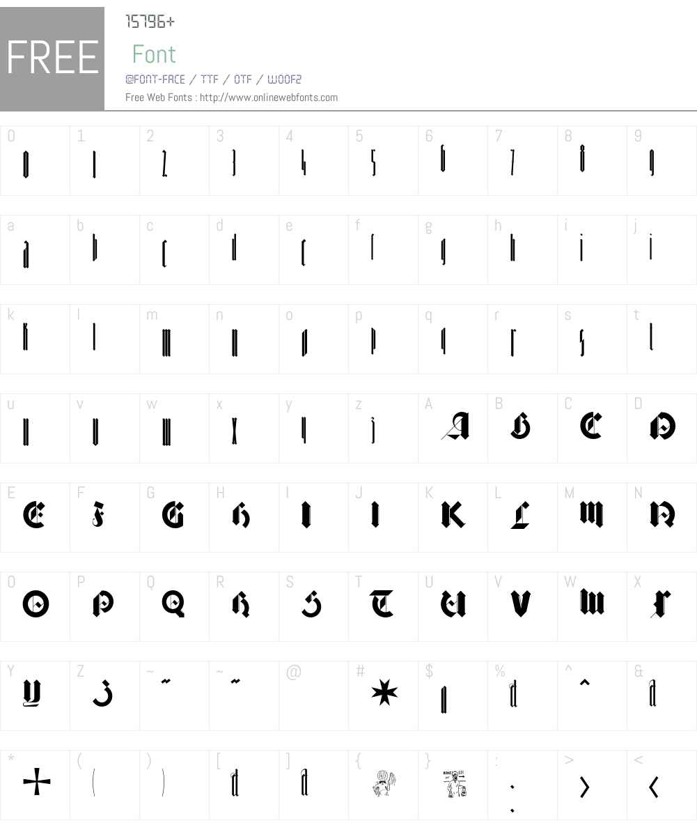 Barnbrook Font Screenshots