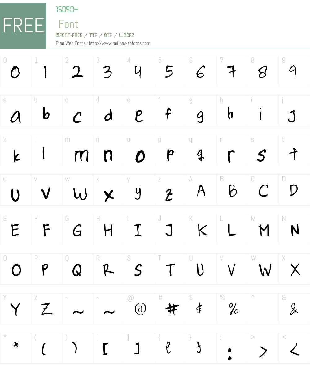 PNTBella Font Screenshots