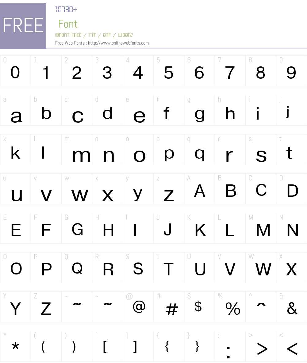 TL SS Cyrillic Unstressed Font Screenshots