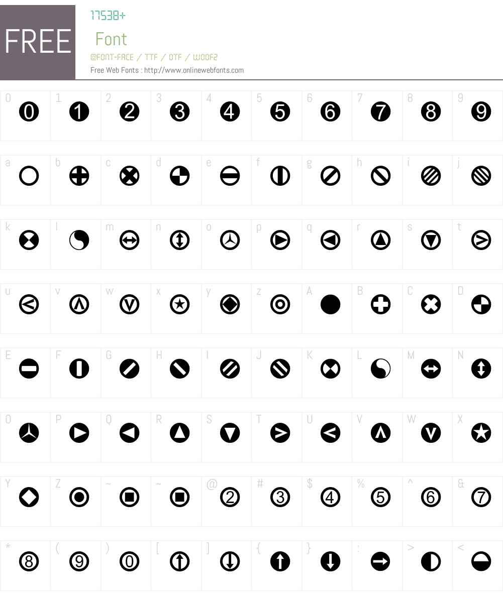 LinotypeTapestry-Circle Font Screenshots