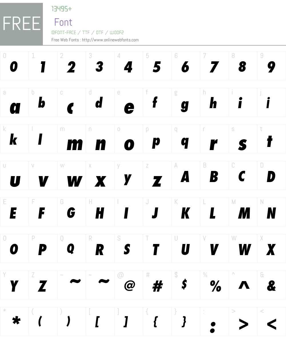 Futura PT Font Screenshots