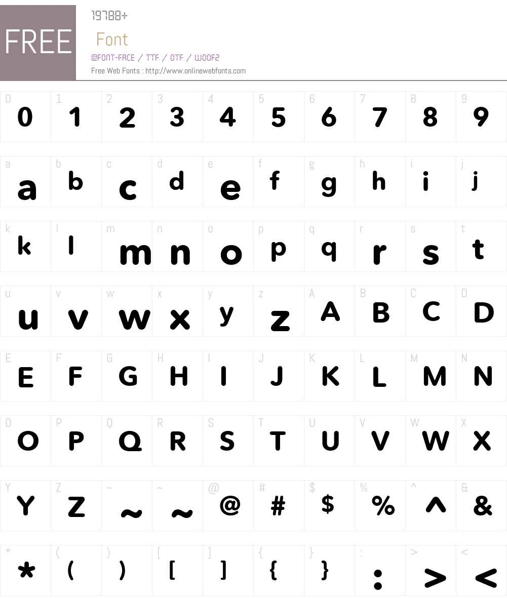 AvenirNextRoundedW02-Bold Font Screenshots