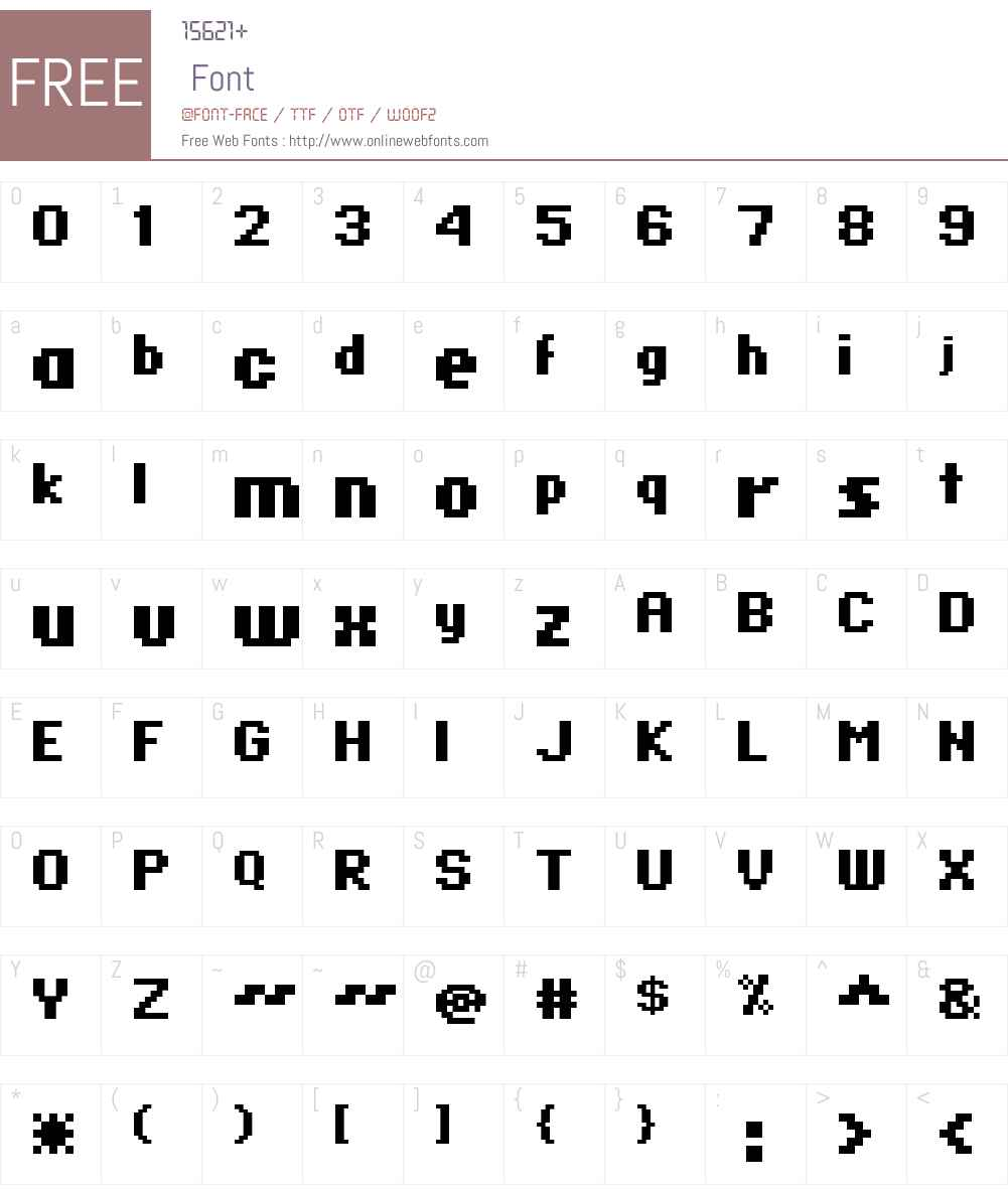 standard 07_66 Font Screenshots