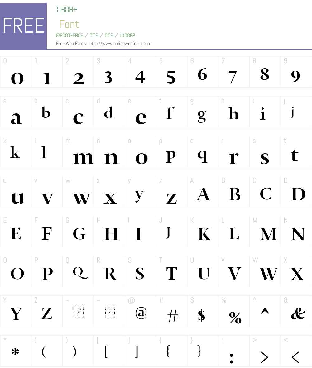 8b5a67b3825c6363 - subset of Thema Cy Bld Font Screenshots