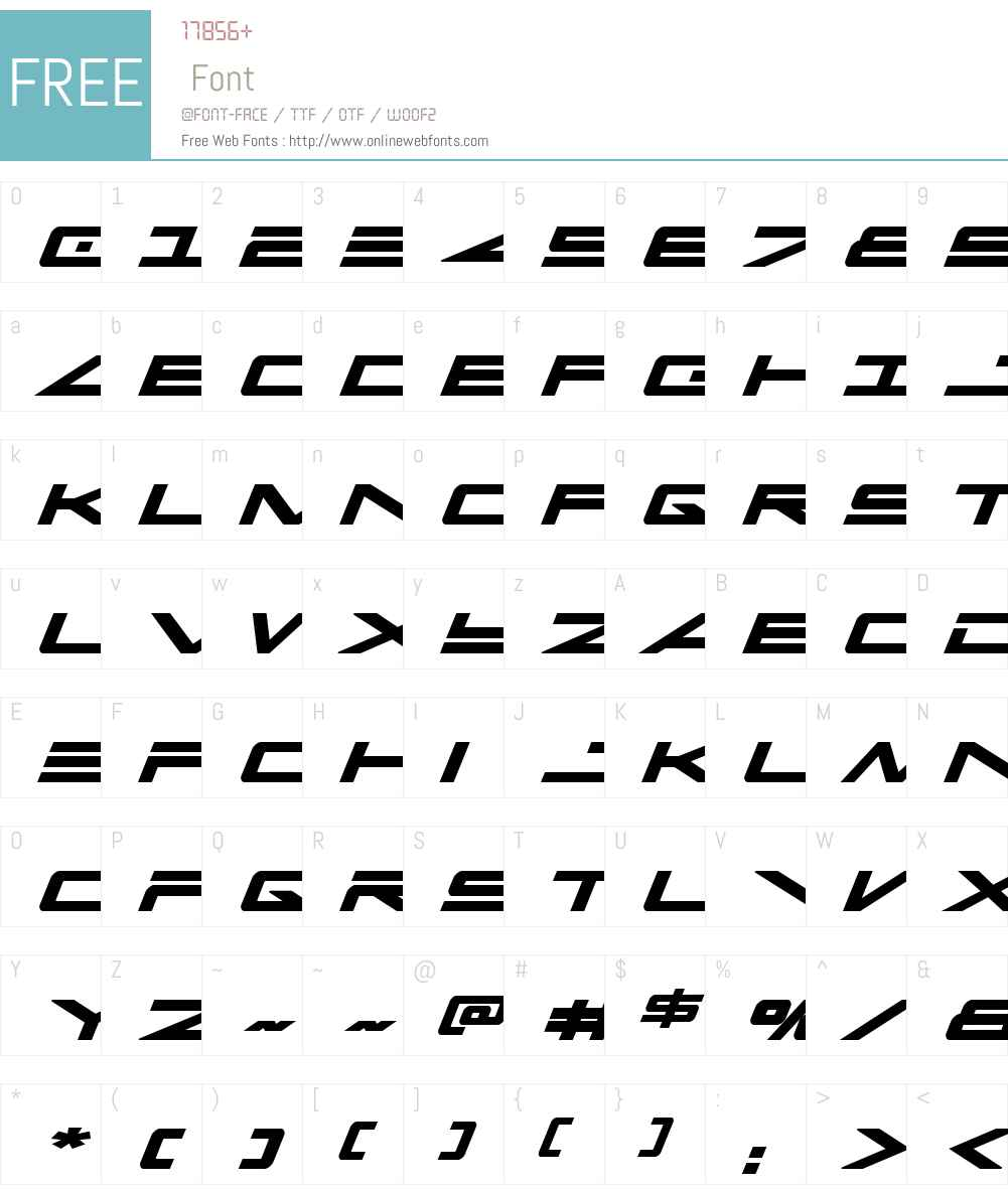 Capella Bold Italic Font Screenshots