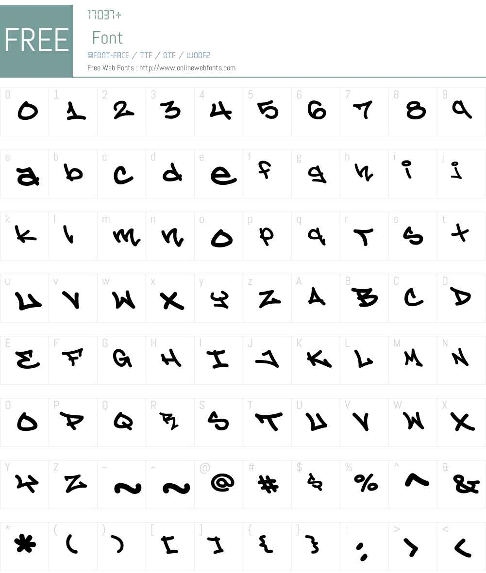 CCPhatBoi-Bold Font Screenshots