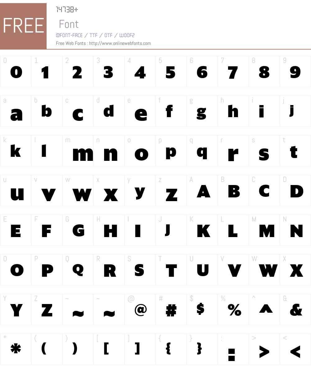 Sanomat Sans Web Black Font Screenshots