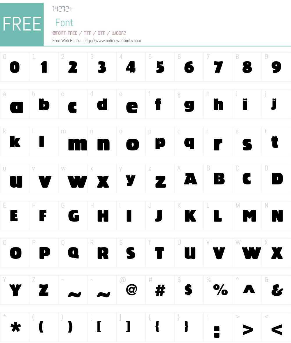 Linotype Bariton Font Screenshots