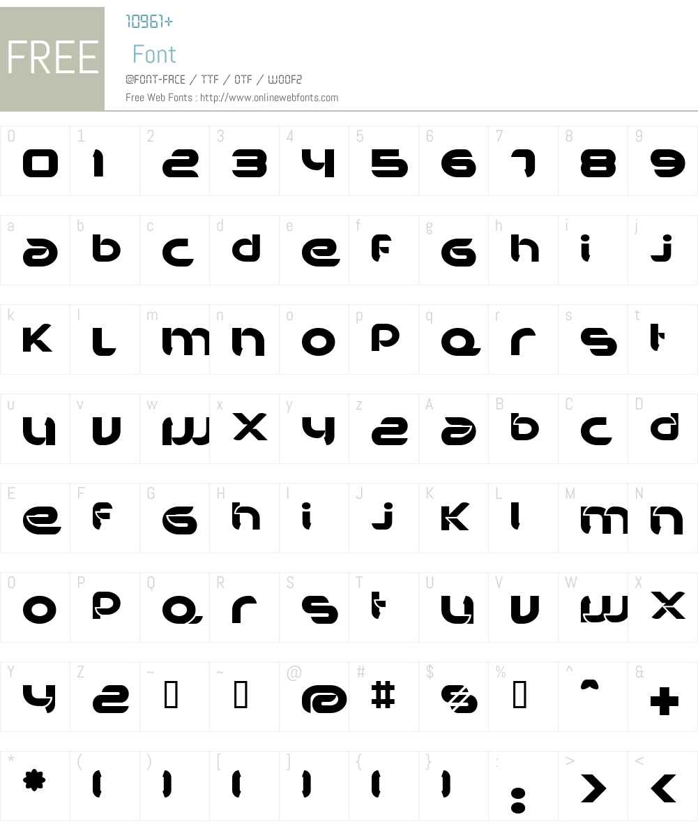 BDBankwell Font Screenshots