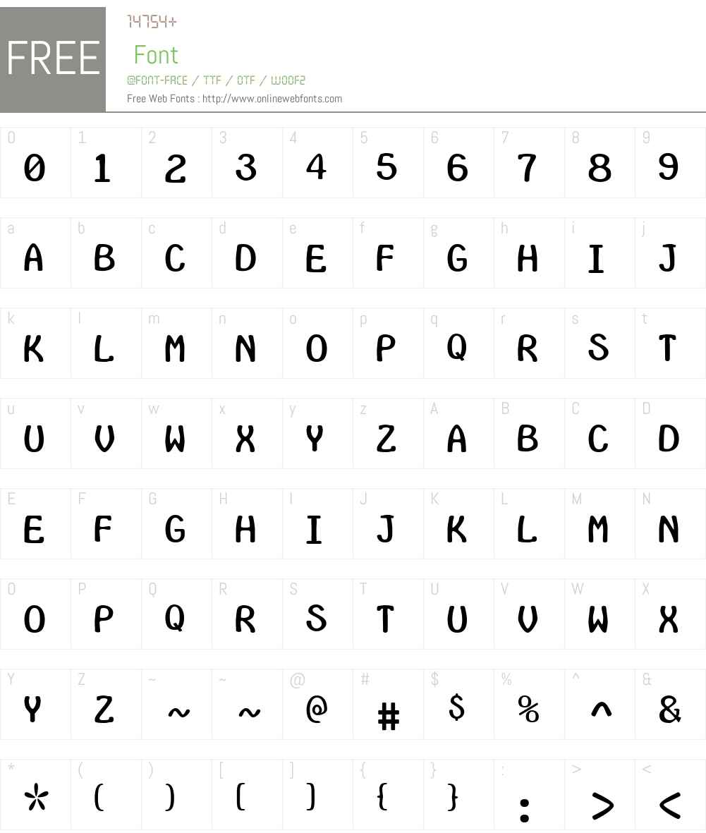 InsideLettersW00-Regular Font Screenshots