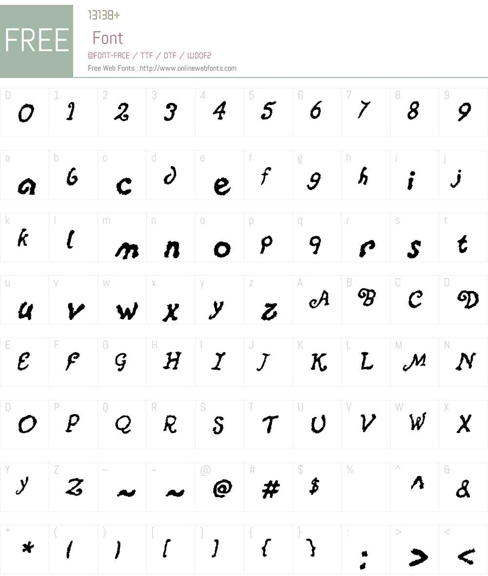 Xalapa Font Screenshots