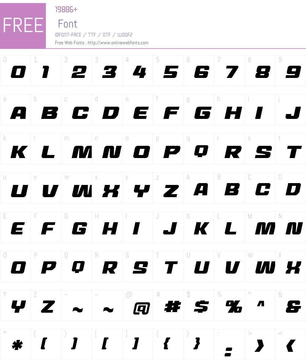 MechEffects2 BB Font Screenshots