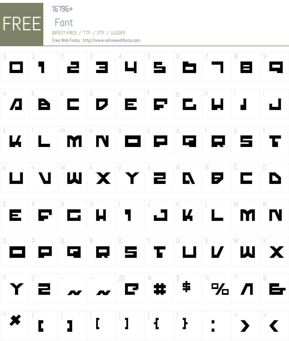 Trajia Font Screenshots