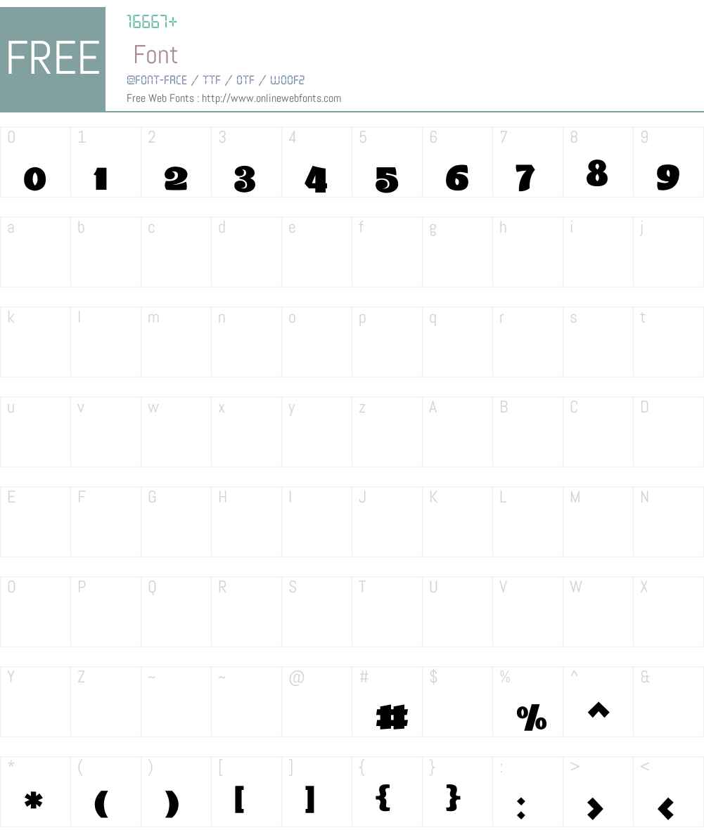 Ebhaar Font Screenshots