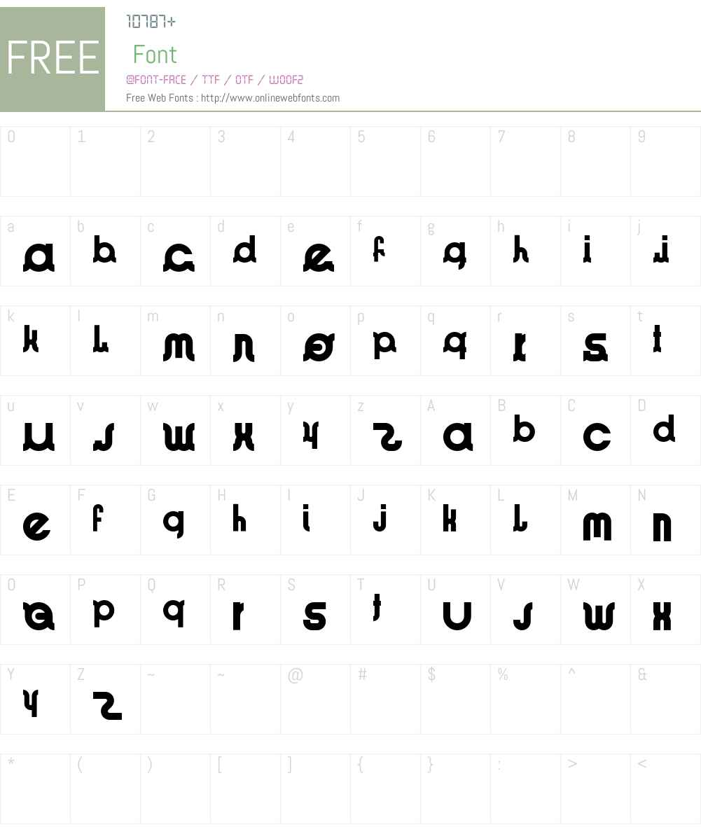 ImeoKoOl Font Screenshots