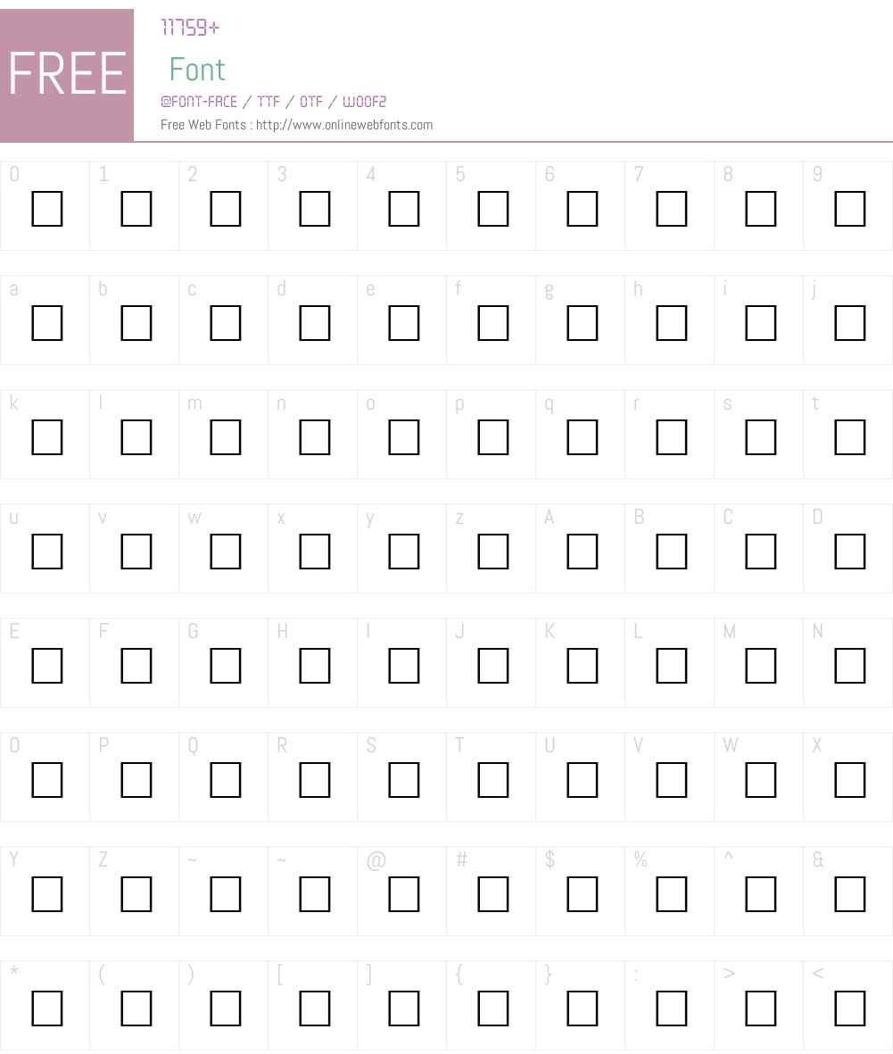 ADRIANNA Font Screenshots
