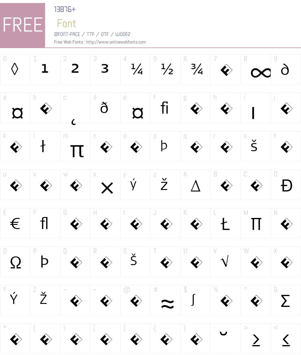 SignaNormal-LightExpert Font Screenshots