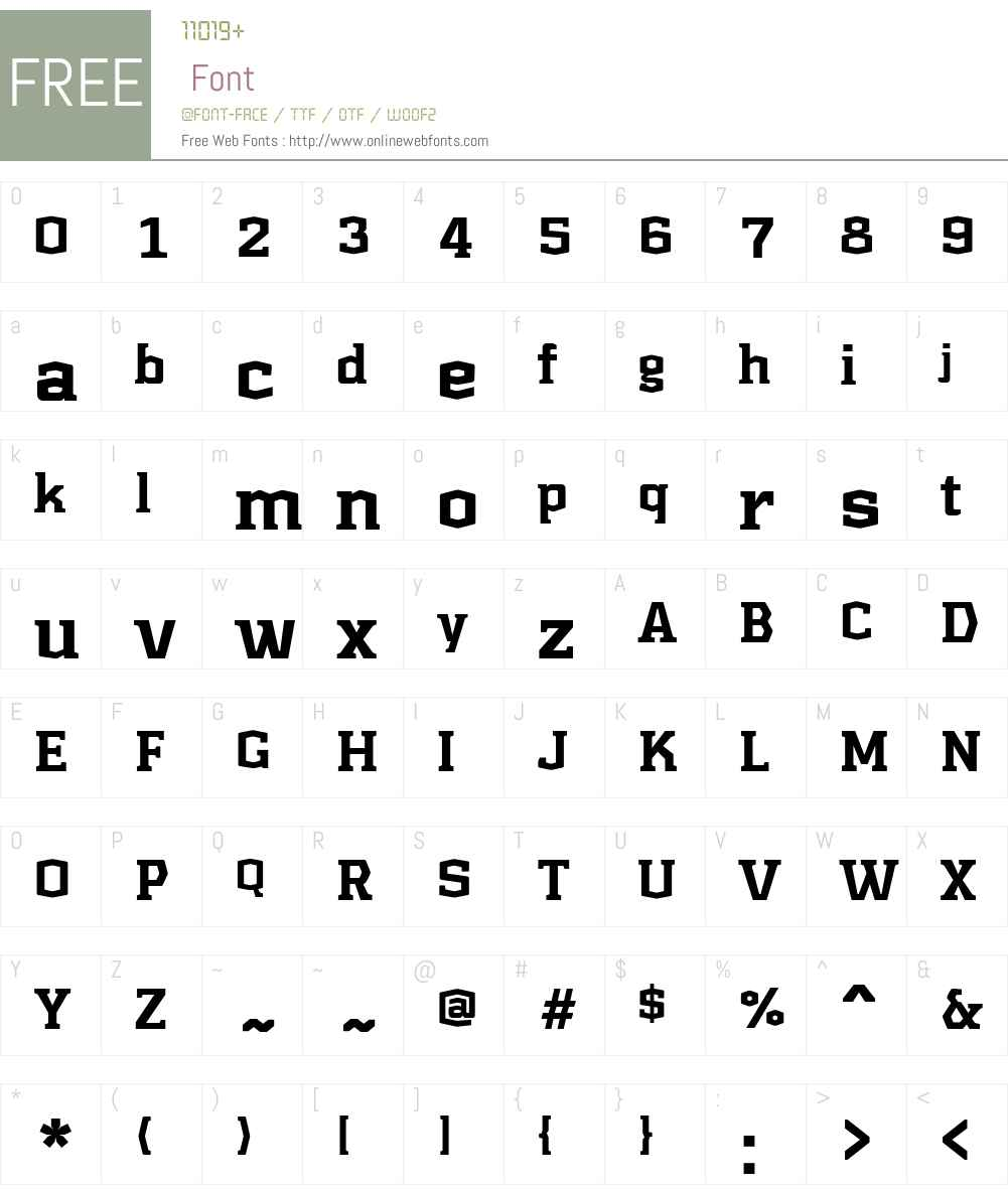 Kridpages Font Screenshots
