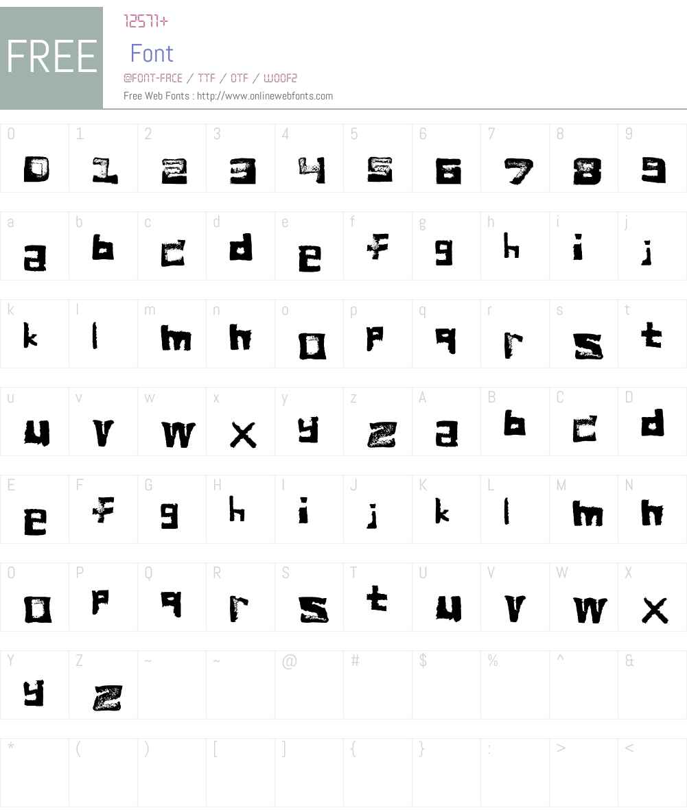 bread Font Screenshots