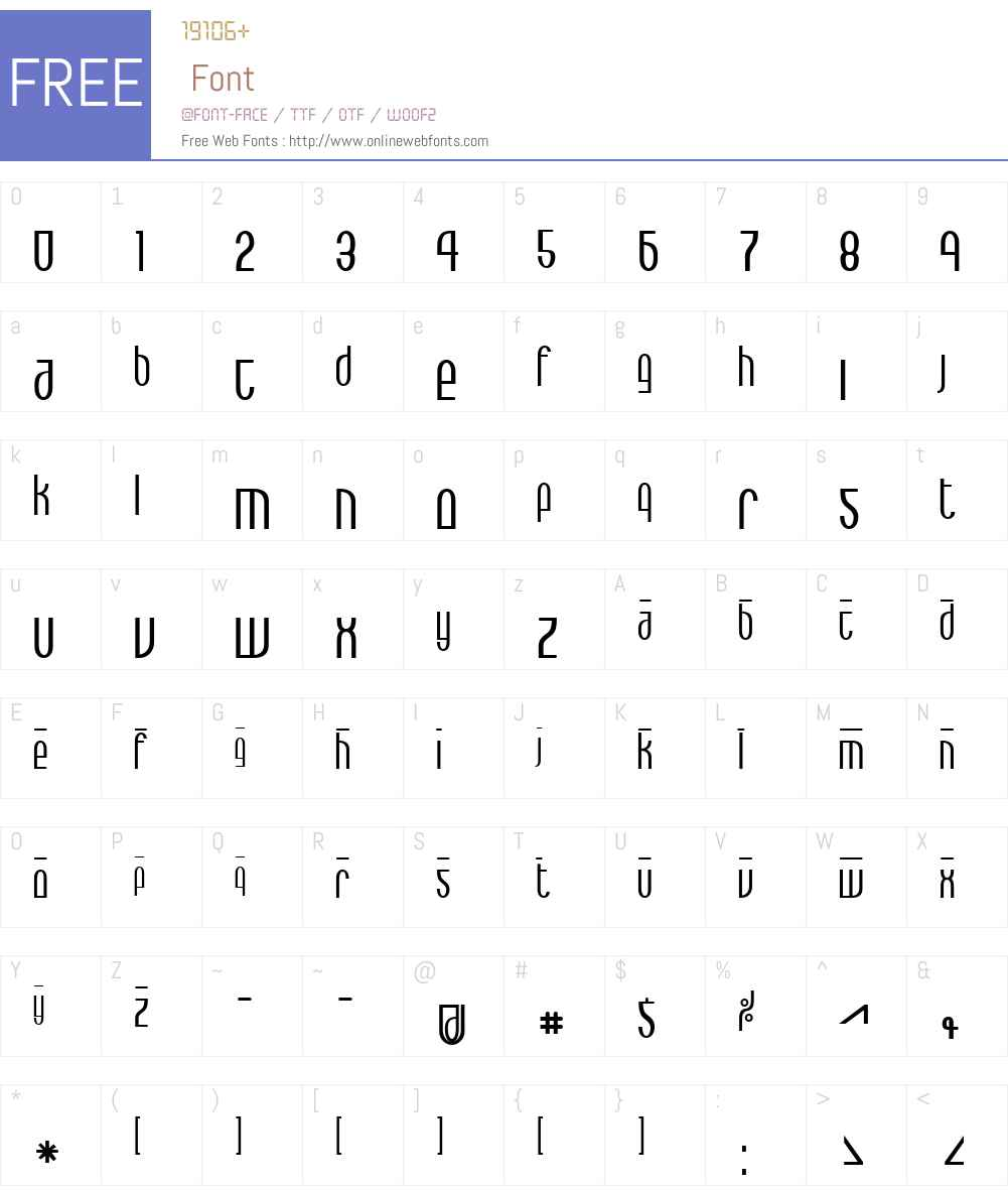 Max Font Screenshots