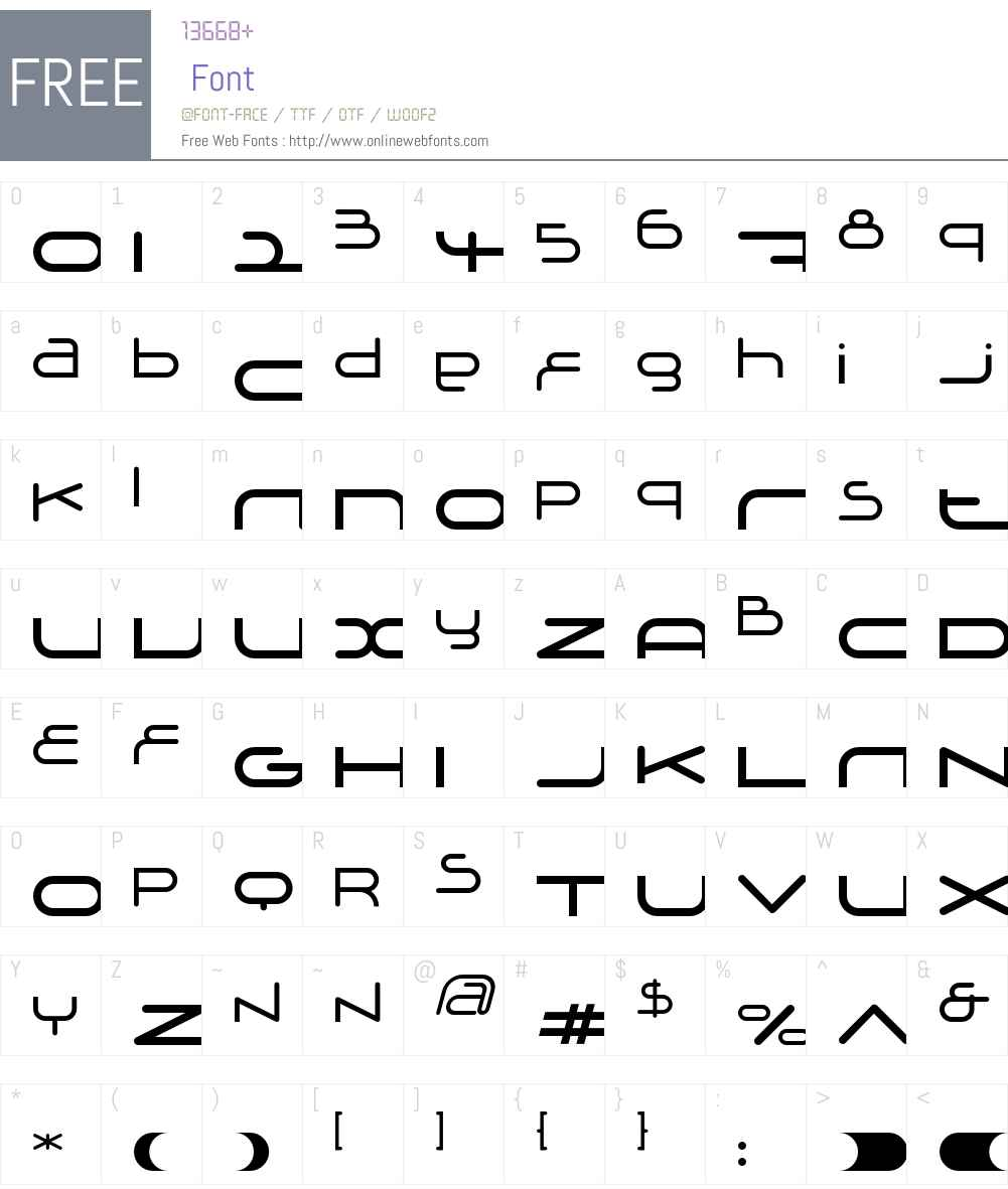 Adrenalin Font Screenshots