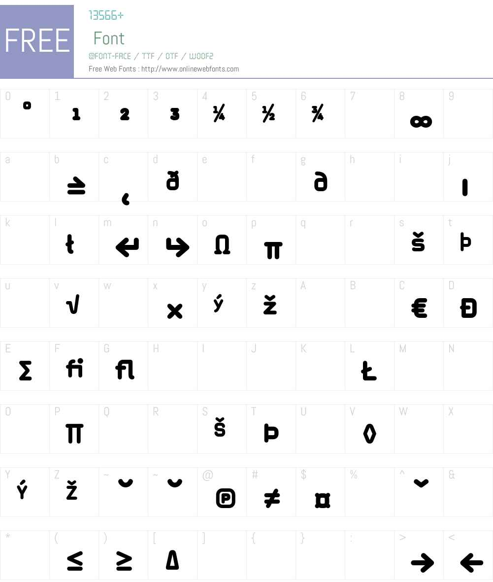MagdaClean Font Screenshots