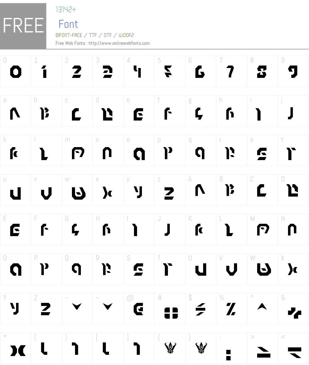 Omnicron Font Screenshots