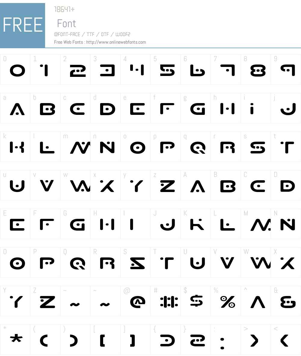 Planet S Expanded Font Screenshots