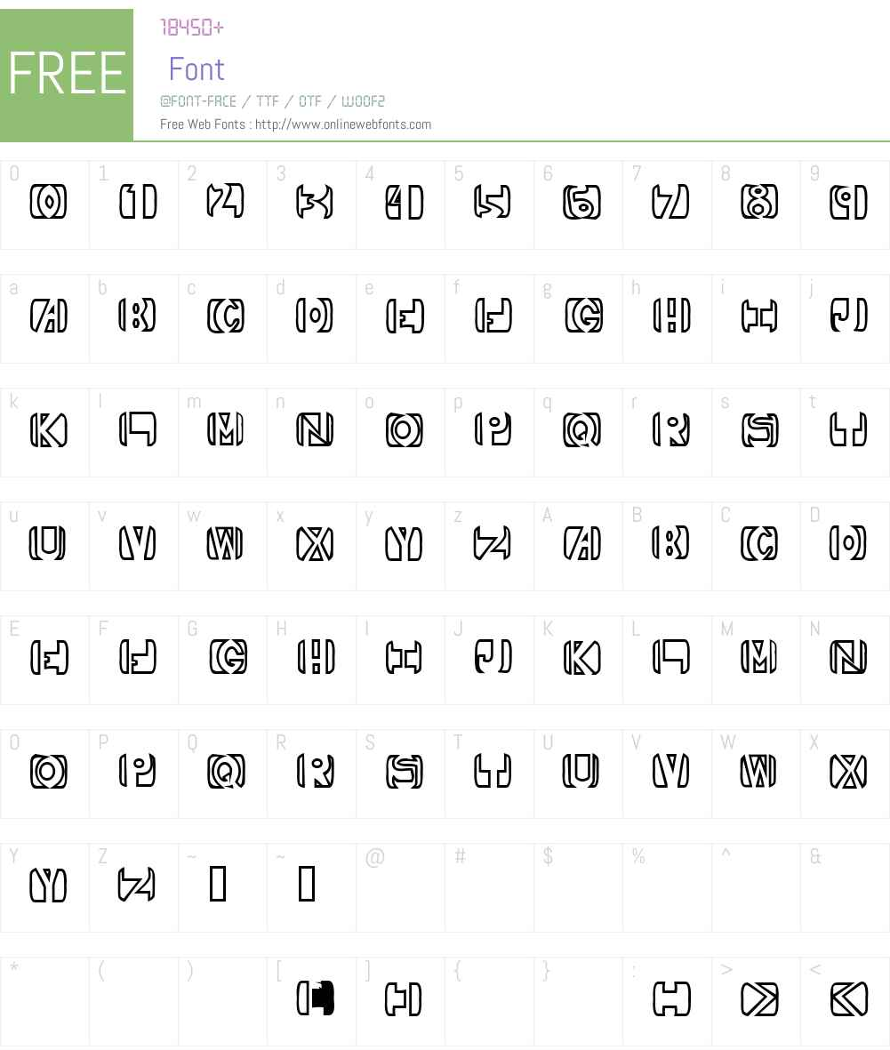 Royal Font Screenshots