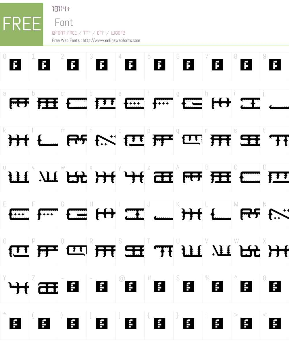 Space Odin Font Screenshots