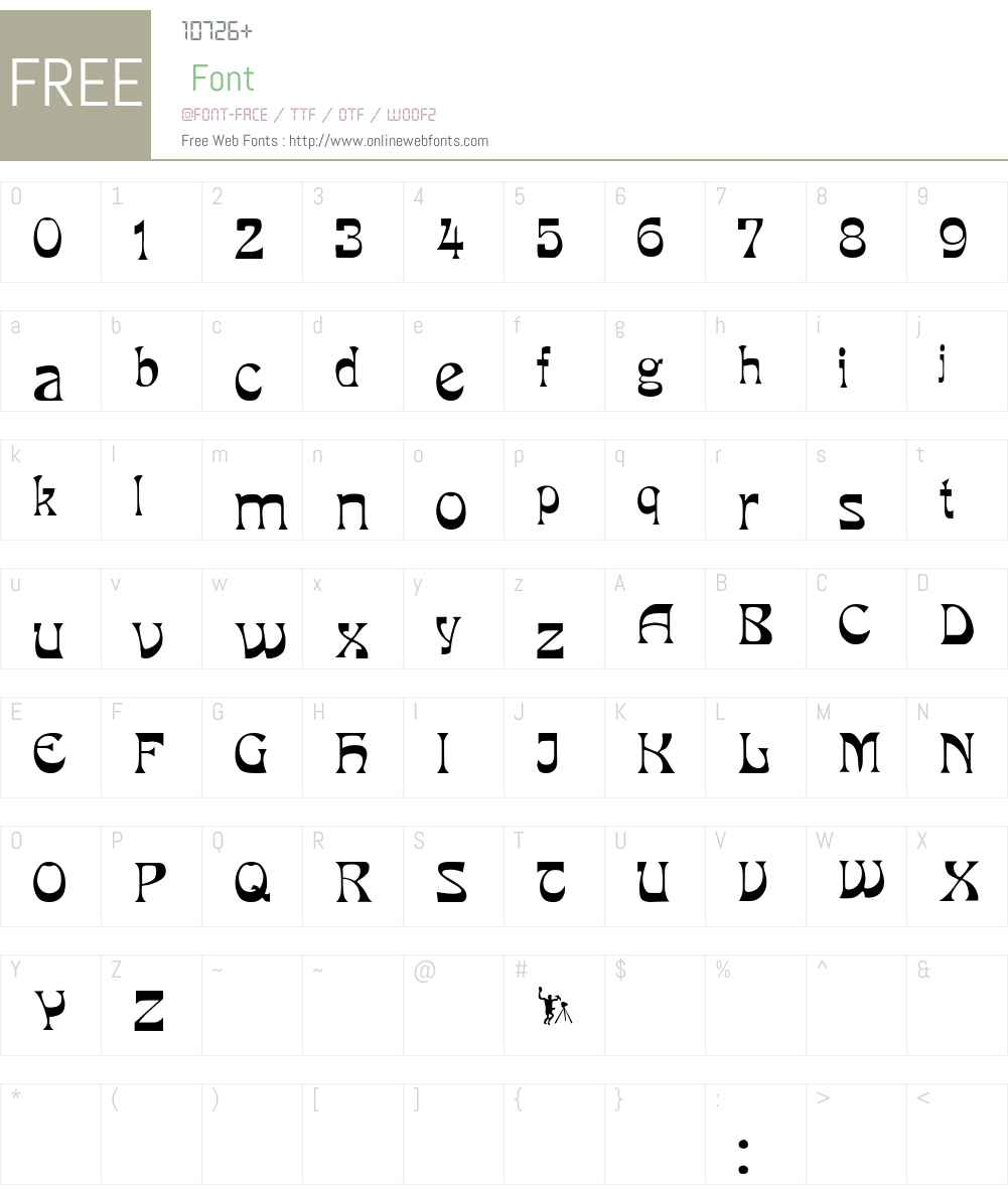 PCMira Font Screenshots