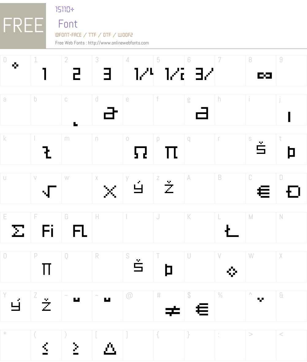 Eboy Font Screenshots