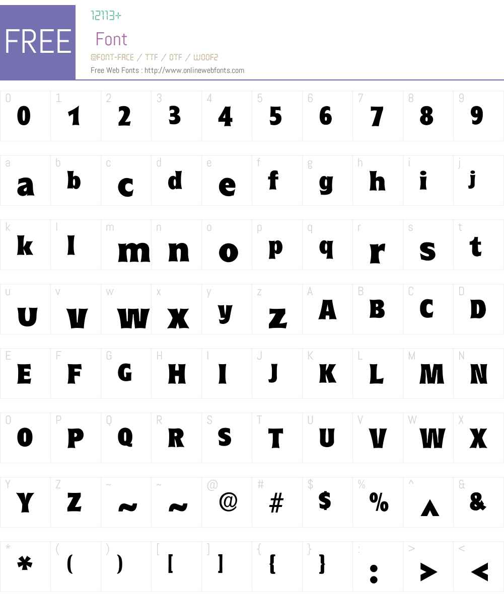 Rounde Font Screenshots