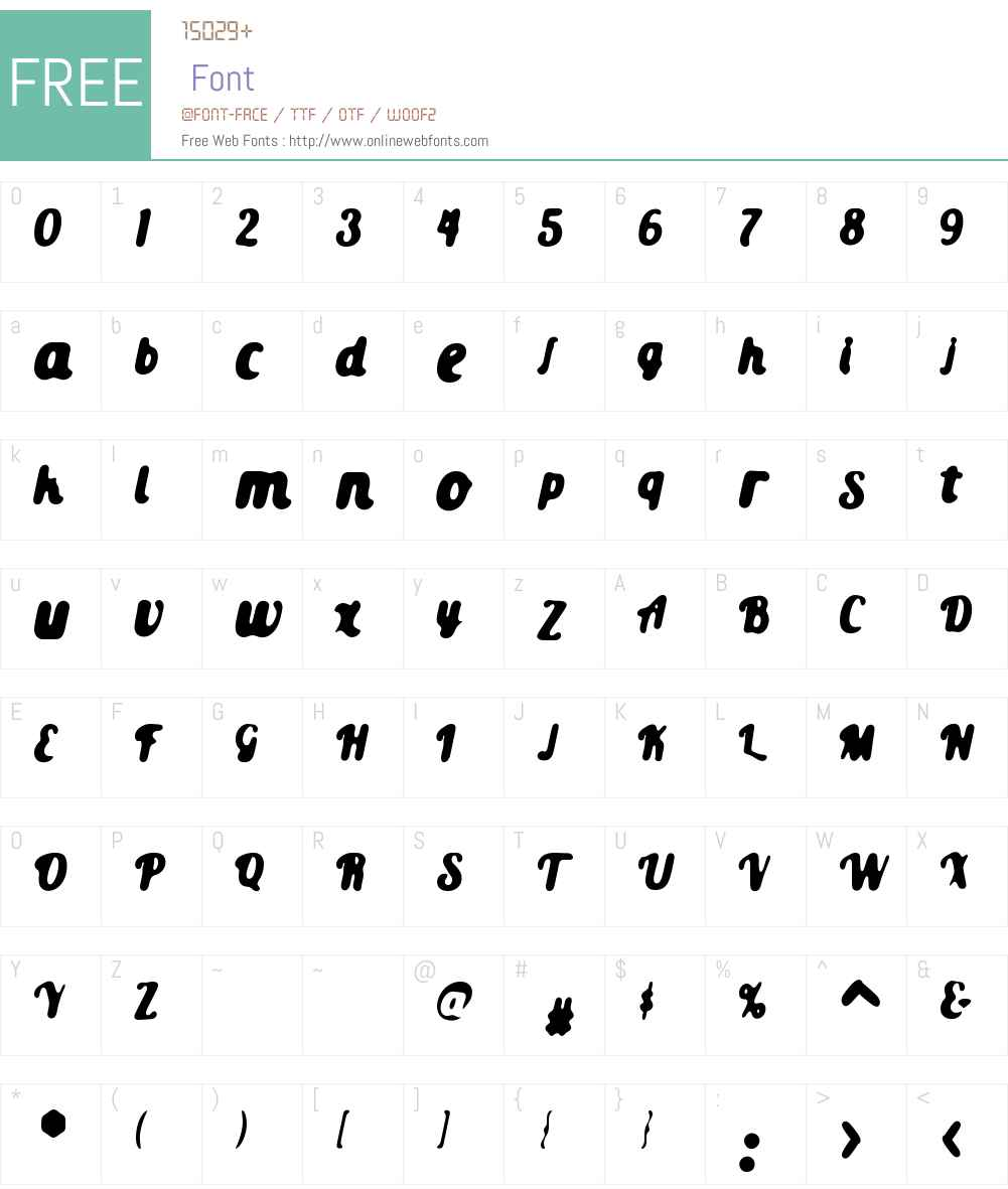 Old Guard Font Screenshots