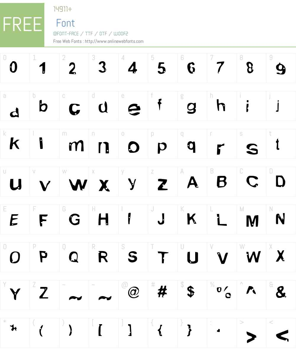 Alien Marksman Font Screenshots