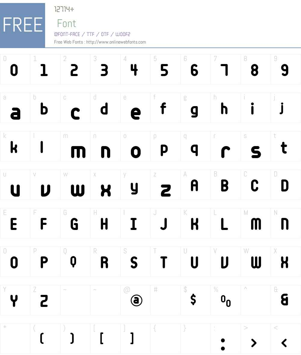 CashbackBoldW00-Bold Font Screenshots