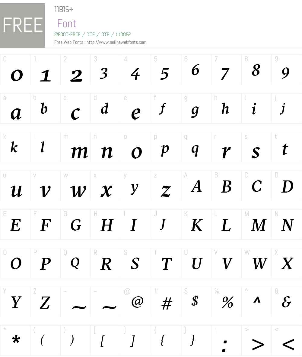 GT Sectra Medium Font Screenshots