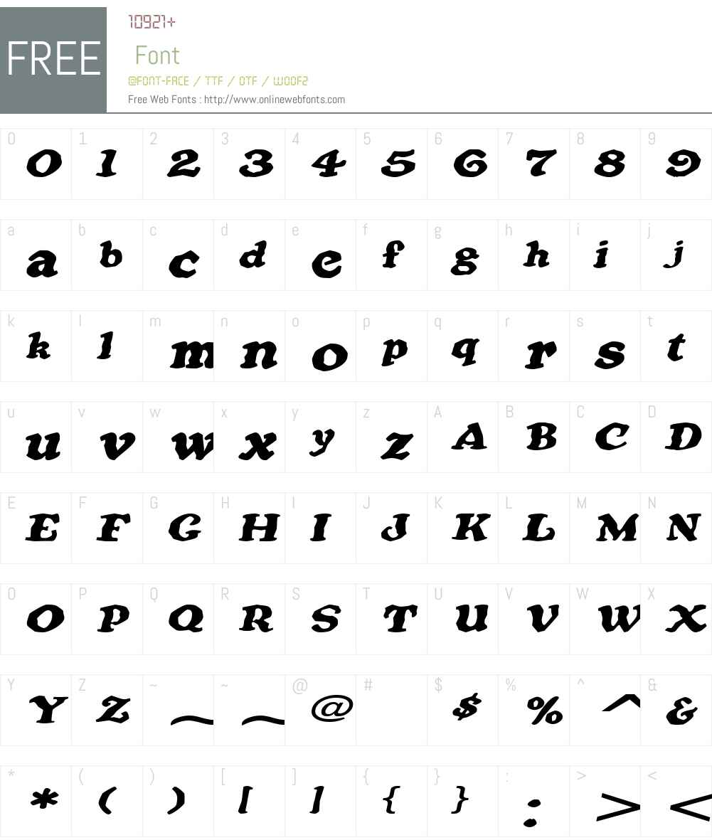 OatmealExtended Font Screenshots