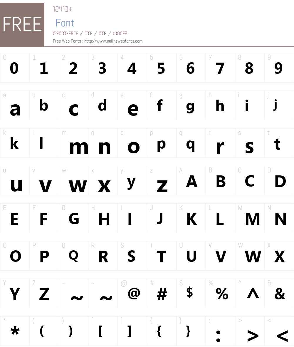 Segoe UI Font Screenshots