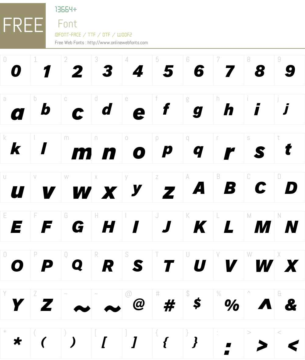 AG Royal ExtraBold Font Screenshots